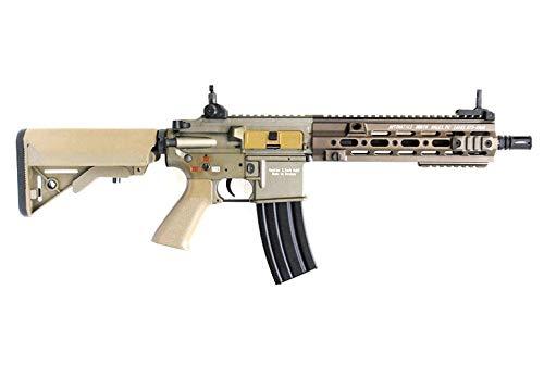 DOUBLE BELL HK416 GEISSELEタイプ 10.5inch SMRハンドガード メタル電動ガン ダークアース DE M4 M16 No.811S B07SRGH9ZT