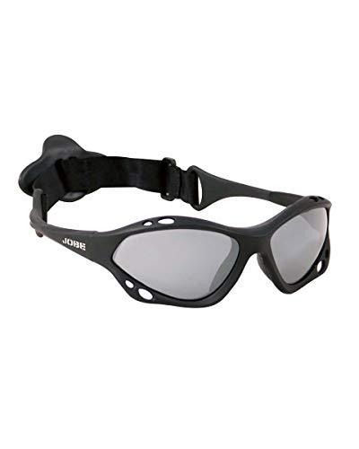 Jobe Zonnebril float glazen rubber gepolariseerde glazen, zwart, één maat