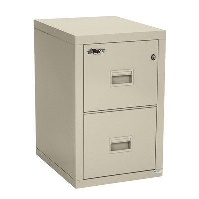 Fireproof 2-Drawer Vertical File Finish: Parchment ()