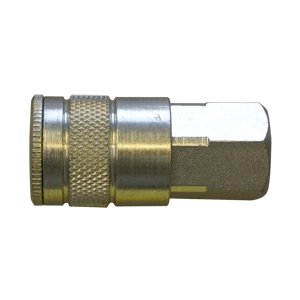 "Interstate Pneumatics CA660 3/8"" Automotive Coupler 3/8"" Female NPT (Steel)"