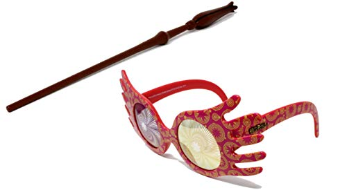 Luna Lovegood Costume - Luna Lovegood Costume Wand and Glasses