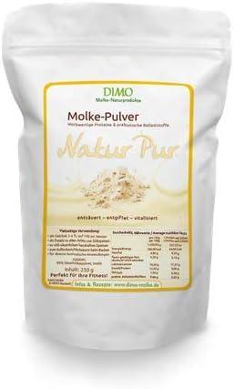 Molke Drink Natur mit prebiotischen Ballaststoffen - Molkepulver 250 g - Trinkmolke der Hit
