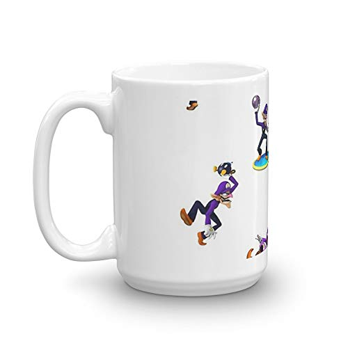 Girls, hit your WALUIGI 15 Oz White Ceramic -