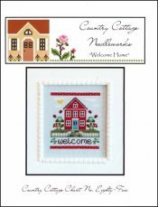 Chart Cross Stitch Welcome (Welcome Home (CCN) Cross Stitch Chart)