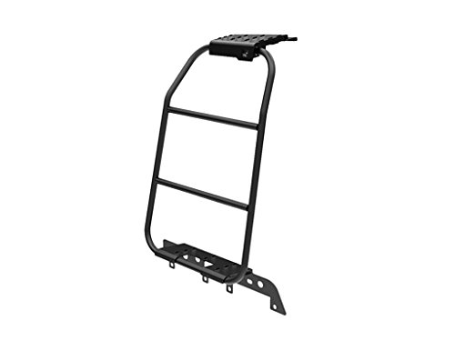 Front Runner Land Rover LR3 & LR4 Ladder/All Steel Black One Piece Vehicle Accessory - by