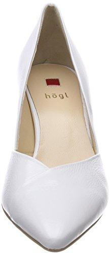 Högl 5-10 7505 0200, Scarpe con Tacco Donna Bianco (Weiß)