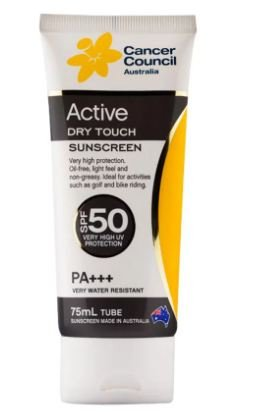 Cancer Council Australia Active Dry Touch Sunscreen Spf50 - Council Cancer Stores
