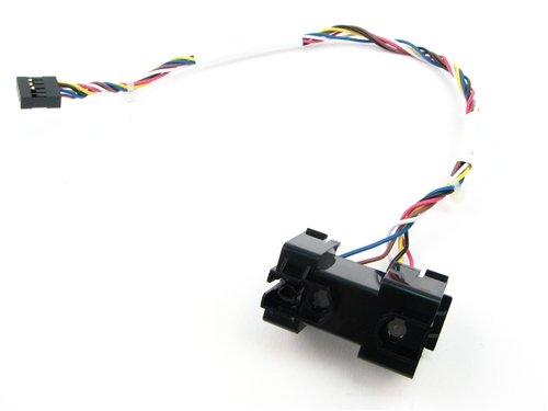 Dell Inspiron 546 Power Switch Indicator Assembly With Hard Drive LED Power Button, Cable, & Bracket- Y882M (Dell Assembly)