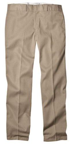 Dickies - Pantalón de trabajo 874 original, color caqui, 34 vatios x 36 litros