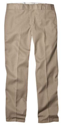 Dickies Men's Original 874 Work Pant, Khaki, 33W x 34L