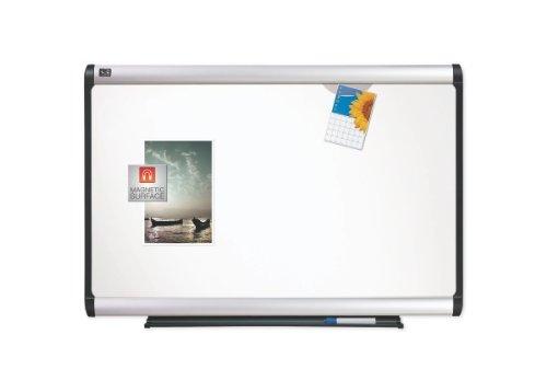 Quartet Prestige Plus Premium Porcelain - Quartet Prestige Plus Premium Porcelain Whiteboard, 6 x 4 Feet, Aluminum Frame (P557A)