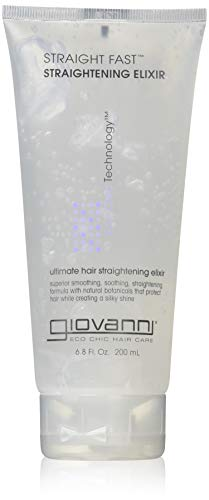 (GIOVANNI- Straight Fast- Eco Chic Hair Straightening Elixir (6.8 Ounces))