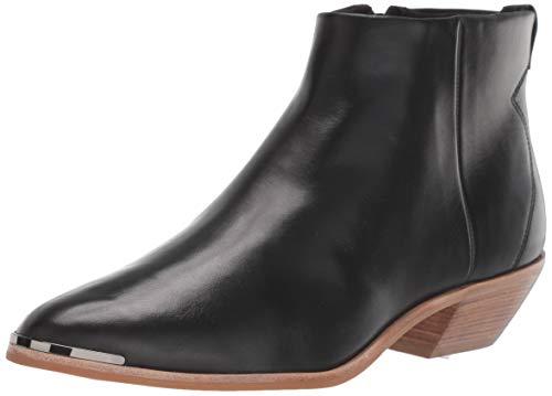 Ted Baker Women's Dakota Ankle Boot, Black Leather, 5.5 M US
