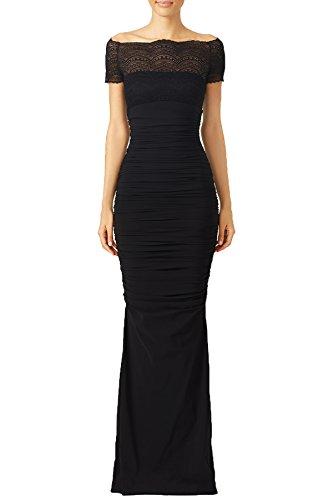 long black mermaid bridesmaid dresses - 8