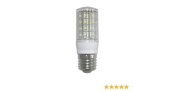 Bombilla LED tipo mini mazorca SevenOn LED 53064, 5W equivalente a 40W, casquillo E27, 270º, 470 lúmenes, 3.000K, blanco cálido, no regulable: Amazon.es: ...