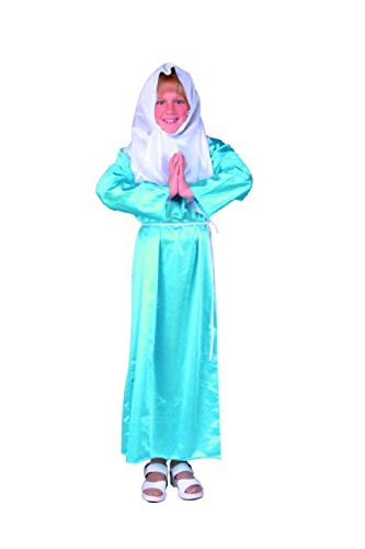 Prairie Girl Costume Ideas (OvedcRay Virgin Mary Child Kids Costume Saint Mother Teresa Religious Biblical Girl)
