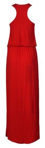 Dbardeur femme Long Rouge Rouge nageur Toge dos Dos robe pour Maxi Ballon nageur Ball Puff gxtwxYqf0