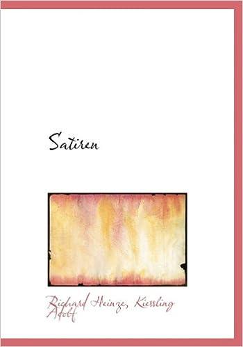 Last ned bøker fra Google eBooks Satiren (Latin Edition) by Kiessling Adolf (Norsk litteratur) PDF PDB 1117721914