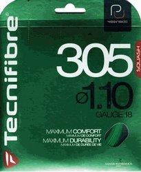 (Tecnifibre 305 1.10 (18 Gauge) Green Squash String Set)