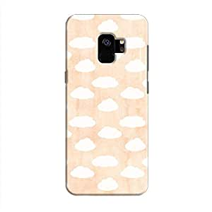 Cover It Up - Cloud Orange Sky Galaxy S9 Hard Case