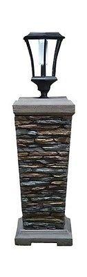 CTM INTERNATIONAL GIFTWARE 69749 38'' Pedestal/Lantern