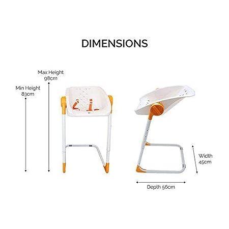 Kiokids Charlichair - Silla de baño, unisex, color naranja: Amazon.es: Bebé