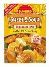 Sunbird Marinade (Sunbird Seasoning Mix Sweet Sour 0.87oz (4 Packs))