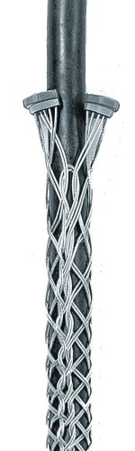 Hubbell Wiring Systems 02212025 Kellems Tin-Coated Bronze Ring Type Conduit Riser Grip, Split Mesh, Lace Closing, Double Weave, 2520 lbs Breaking Strength, 1.75