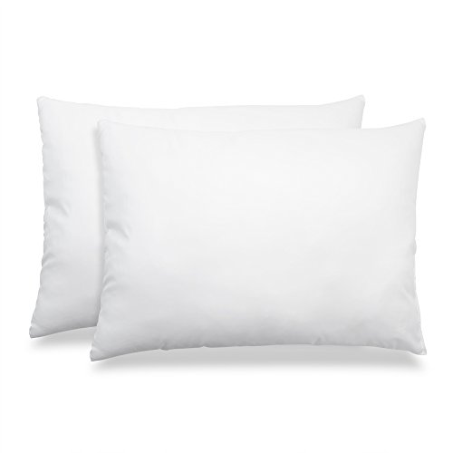 Cardinal & Crest Hypoallergenic Down and Feather Fill Stomach Sleepers Delight Pillow - Queen Size Pillow, Set of 2