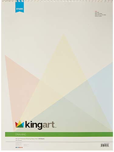 KINGART 644 Pad, Top Wire Bound, 70 Lbs. (110G), 18