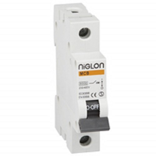 Niglon MCB6B1-6 6A Single Pole MCB Miniature Circuit Breaker