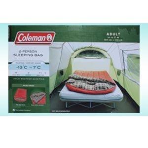 Coleman コールマン 寝袋 2人用シェラフ 耐寒-13℃ B00BLWLO1U