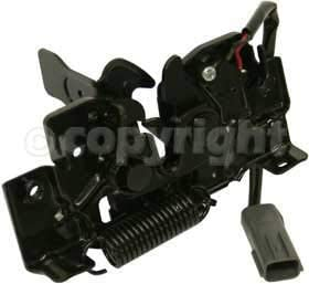 //Sedan Hood Latch Compatible with Mazda 3 2004-2009 with Alarm System 2007-2009 Hatchback with Turbo