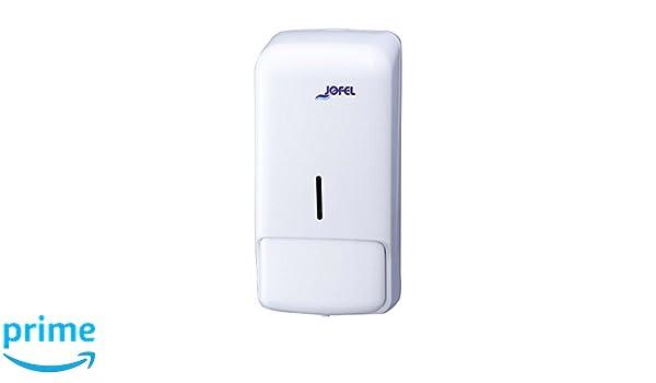 Jofel AC80050 Azur Dosificador de Jabón Rellenable, 0,85 L, Blanco: Amazon.es: Industria, empresas y ciencia