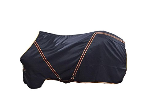 (Horseware OSO1O Exclusive Rambo Newmarket Stable Sheet Whitney Black Stripe 72)