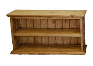 Rustic Small Bookcase Western Traditional Real