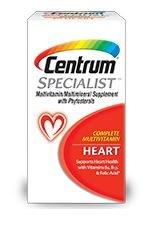 Centrum Specialist Heart Multivitamin/Multimineral Support, 60 Tablets