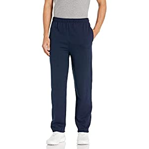 Gildan Men's Fleece Elastic Bottom Pocketed Pant