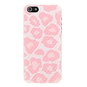 JAJAY Pink Spots Pattern Plastic Hard Back Case Cover for iphone 5/5S