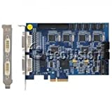 86-1120B-160U Geovision Promo Pack Includes GV-1120-16-B-DVI DVR Card and 84-CB120-D01U IP Camera