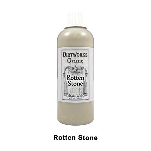 (PPI Skin Illustrator Fleet Street Dirtworks Grime Spray, Alcohol Based Dirt Spray for Theater and Special Effects Makeup, Rotten Stone 4oz )