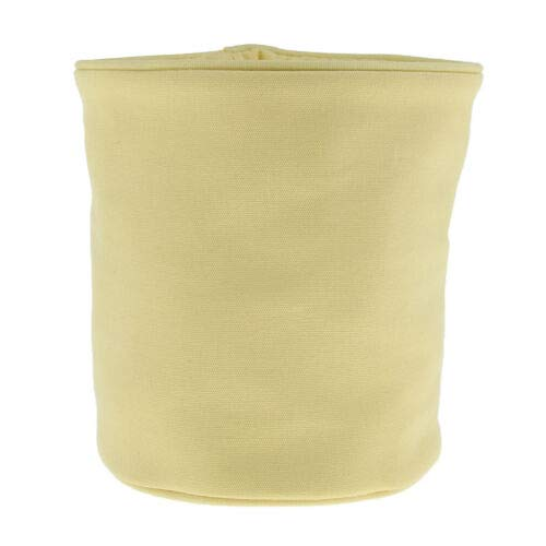 Foldable Bucket Cosmetic Pack Waterproof Travel Storage Bag Pouch for Women (Color - Yellow) ()