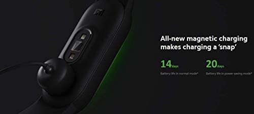 Xiaomi Mi Smart Band 5 (2020) Pantalla a color AMOLED de 1,1 pulgadas, pulsera impermeable IP68 BT 5.0 Fitness, Sleep, frecuencia cardíaca 24/7, deportes, natación, rastreador de salud (modelo global, negro) 11