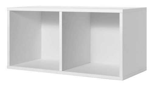 Foremost 327801 Modular Large Divided Cube Storage System, (White Cube)