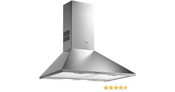 Teka DBP 60 PRO - Campana (Canalizado, 780 m³/h, 57 Db, Montado en pared, Acero inoxidable, Metal): Amazon.es: Grandes electrodomésticos