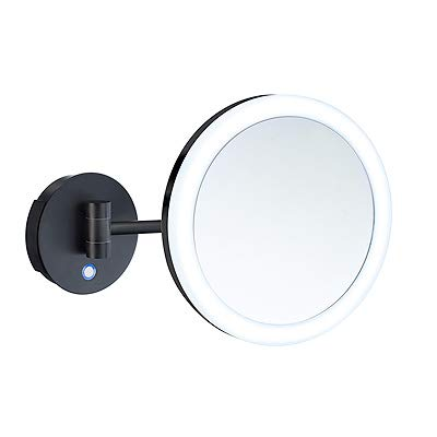 FK485EBP shaving make-up mirror with LED uel light -