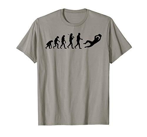 - Goalkeeper Evolution Soccer Silhouette Football Shirt