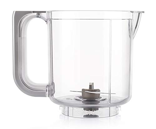 QOOC 4-in-1 Mini Baby Food Maker Mixing Jug (Not Included Blade Set)