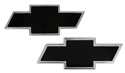 Tie Emblem Bow Polished - AMI - 96101KP - All Sales Chevy Bowtie Grille / Tailgate Emblem - Polished/Black Powdercoat