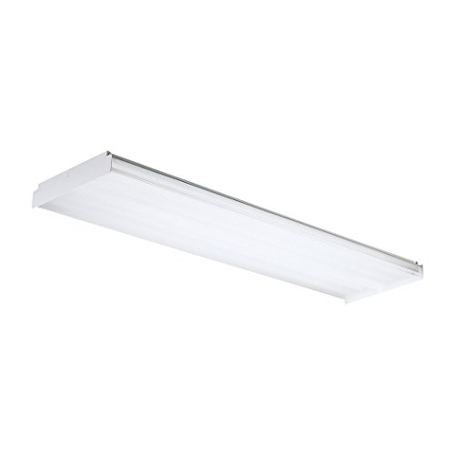 Fluor Ceiling Lamp Clear 4X32W 120V